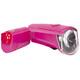 Trelock LS350 I-go Sport + LS710 Reego Beleuchtungsset pink